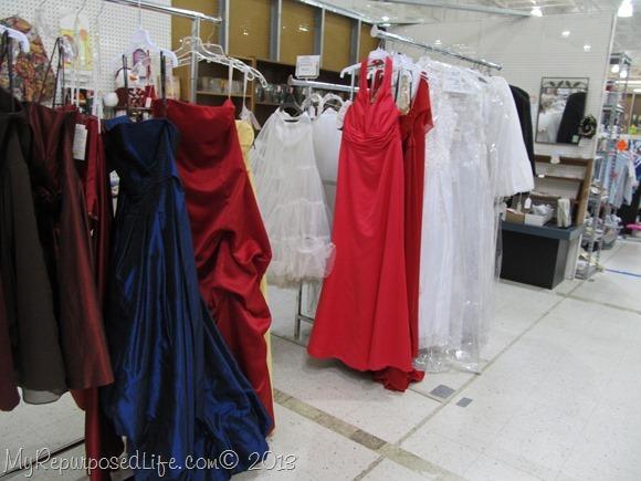 thrift store formals