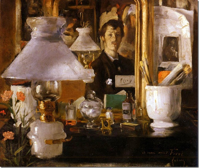 ramon casas i carbo_auto-retrato