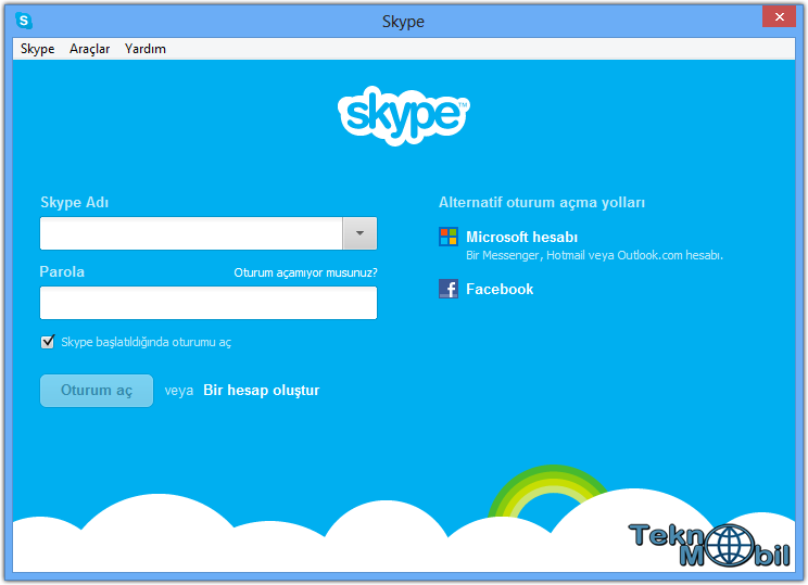 Skype indir v8.15.0.4 Türkçe