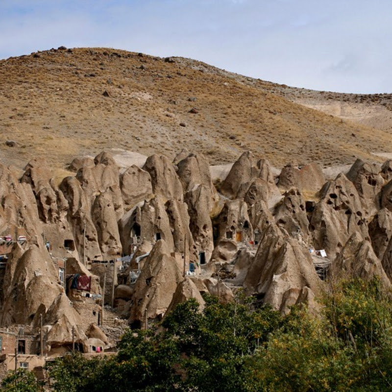 Kandovan: An Iranian Village Carved in the Rocks