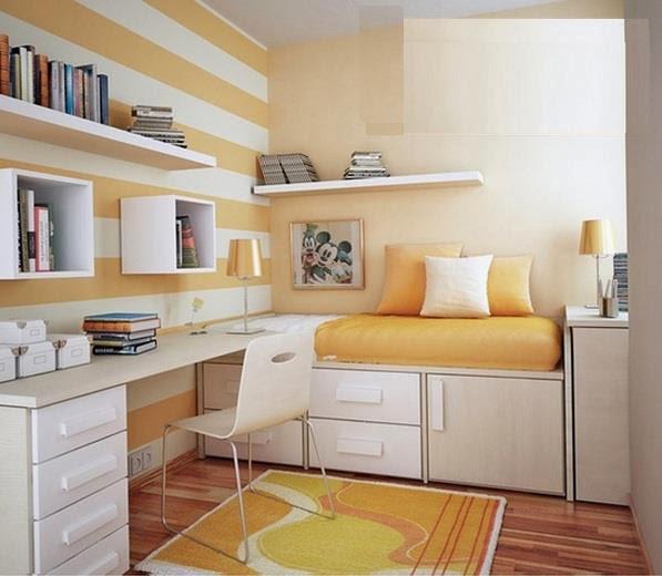 Construindo um sonho a dois quarto e escrit rio for Sofa cama armario