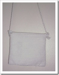 Lacey White Purse