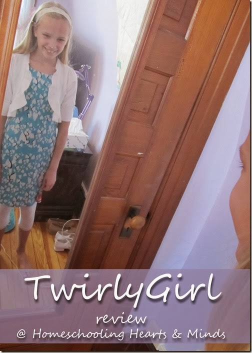 TwirlyGirl Dresses review at Homeschooling Hearts & Minds