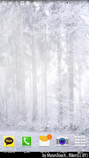 Snow forest Livewallpaper