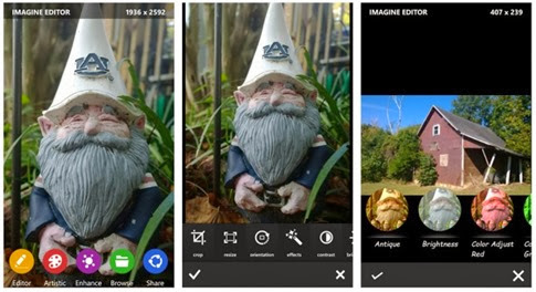 Imagine Cam para Windows Phone
