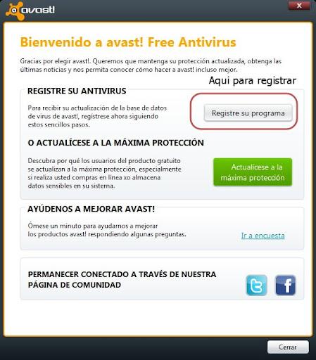 Descargar Avast 6 gratis