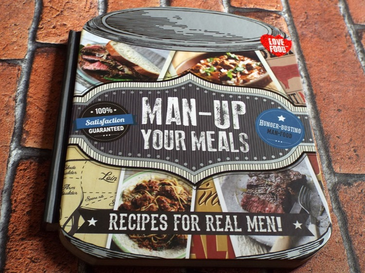 parragon book review Man Up Your Meals