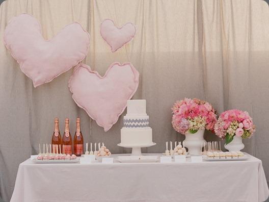 pink-and-gray-dessert-buffet-3 DOLCE DESIGNS STUDIO jesi haack
