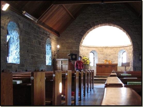 Inside the Braes of Rannoch Church