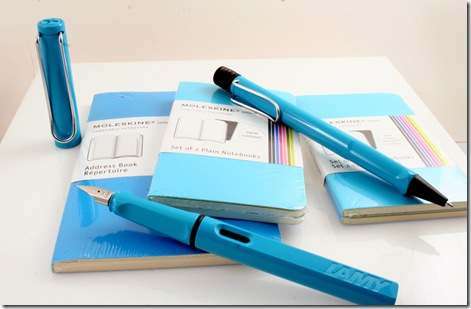 MoleSkine-and-Lamy