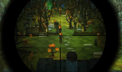 Halloween Pumpkin Sniper