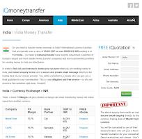 Screenshot of Money Transfer