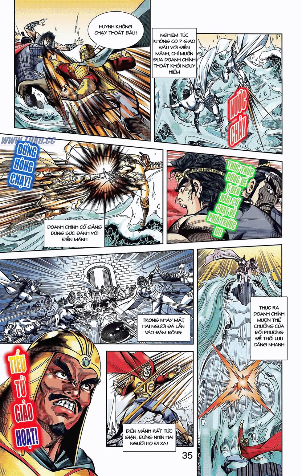 Tần Vương Doanh Chính chapter 10 trang 7