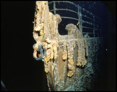 Titanic Underwater