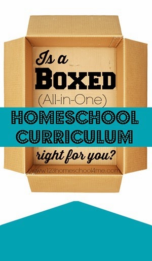 is a boxed (all in one) homeschool curriculum right for you?