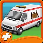 Ambulance Pet Rescue Parking icon