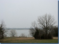 5813 Texas, Garland - view of Lake Ray Hubbard from our room Best Western Lakeview Inn