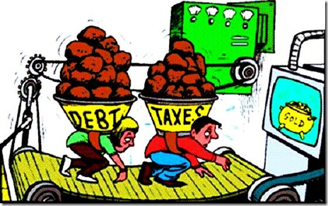 Burdened with Debt & Taxes
