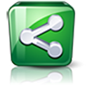 Android Share Social Network logo