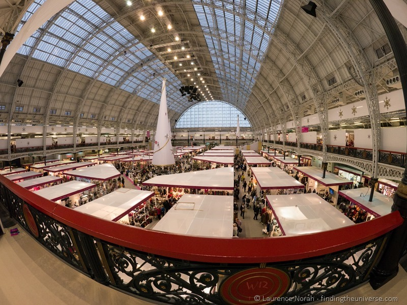 London Olympia fisheye