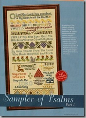 Sampler of Psalms