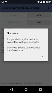 Sixaxis Compatibility Checker - screenshot thumbnail