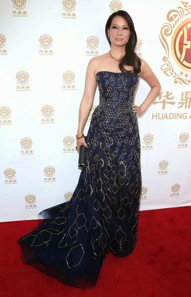 Lucy Liu Arrivals Huading Film Awards