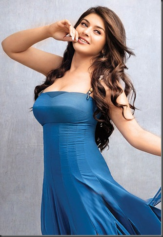 hansika_hot_in_blue_dress