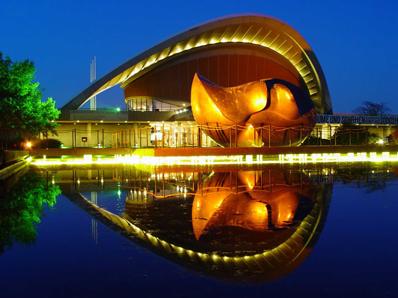 The Haus der Kulturen der Welt (House of World Cultures) in Berlin is Germany's national center for the presentation of international contemporary arts, with a special focus on non-European cultures and societies.
