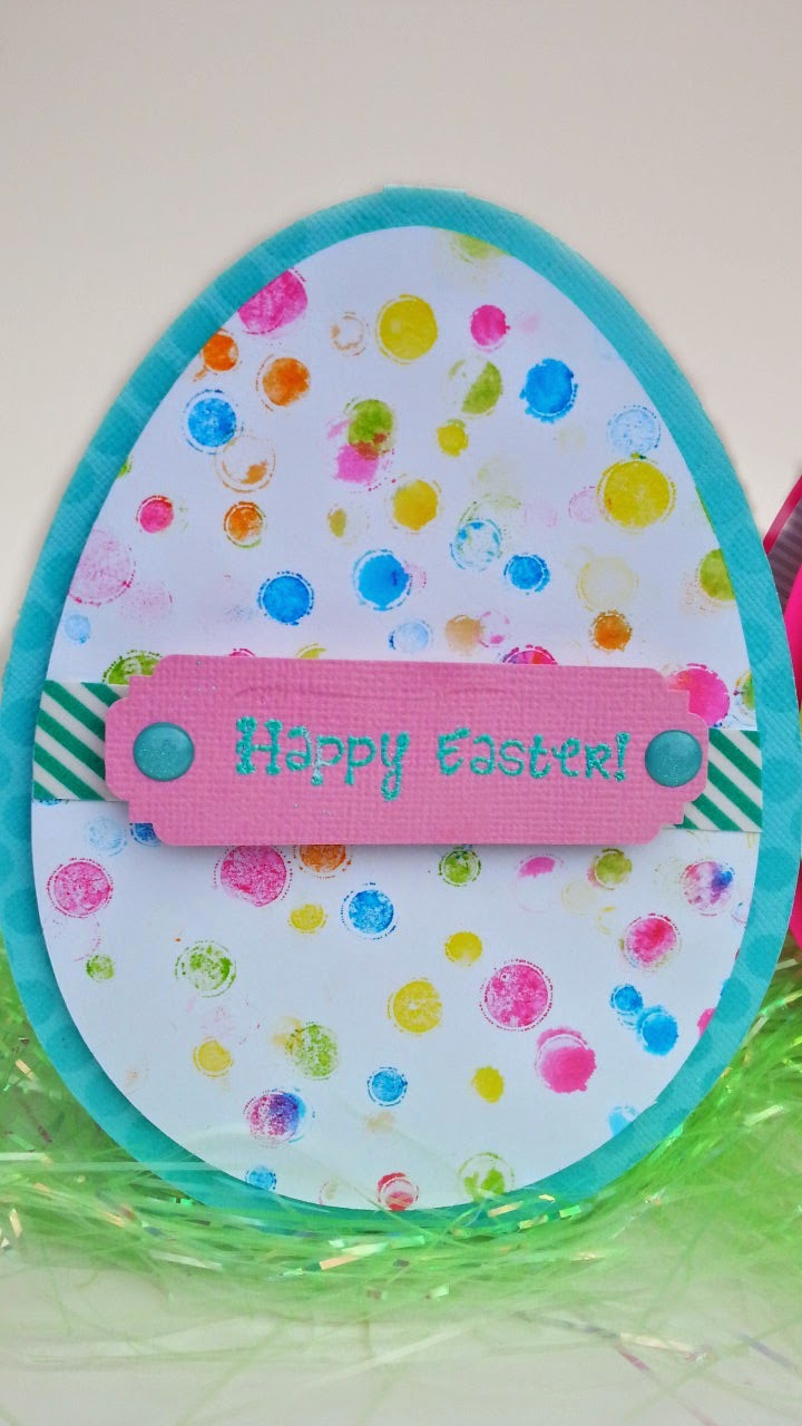 Waving My Wand Speckled Egg Easter Cards Free Svg File