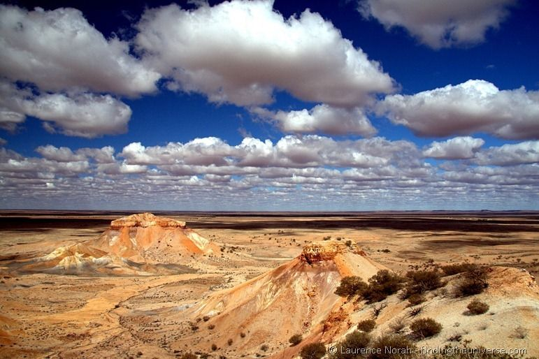 Australia six week itinerary Painted desert Australian Outback Coober Pedy clouds sky.png