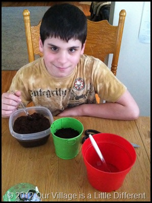 Planting Seeds During Homeschool