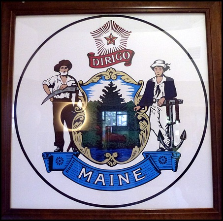 9a - Maine Welcome Center State Seal
