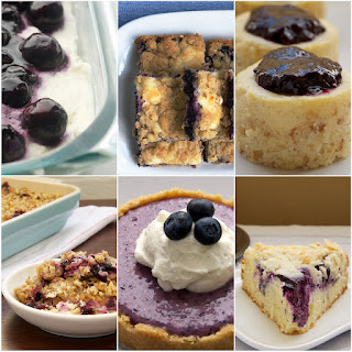 Blueberry-Oat Cheesecake Bars
