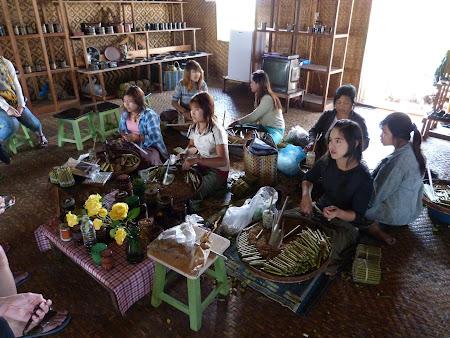 Fabrica trabuce de Myanmar