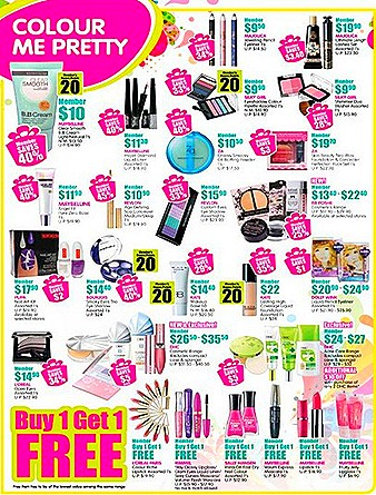 Watsons sale cosmetic