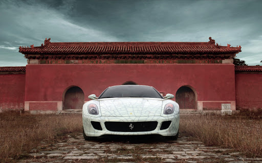 Ferrari 599 GTB Fiorano Wide Wallpaper
