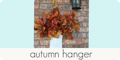 autumn hanger