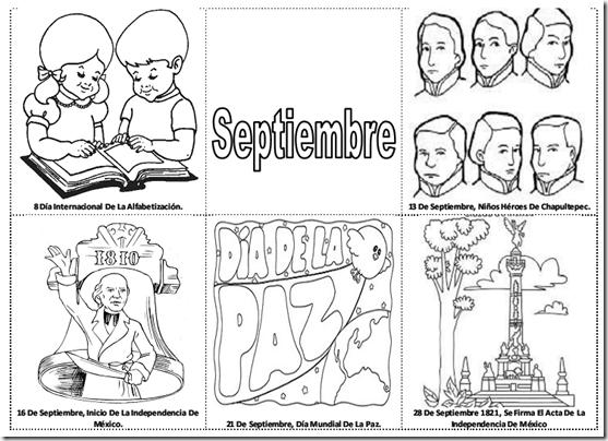 Dibujo De Septiembre Para Colorear Imágenes De La Independencia De