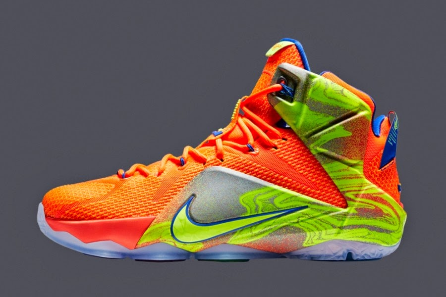 quality design 6ac12 1fa5d ... Seven Nike LeBron 12 Colorways Revealed to Launch in 2014 ...