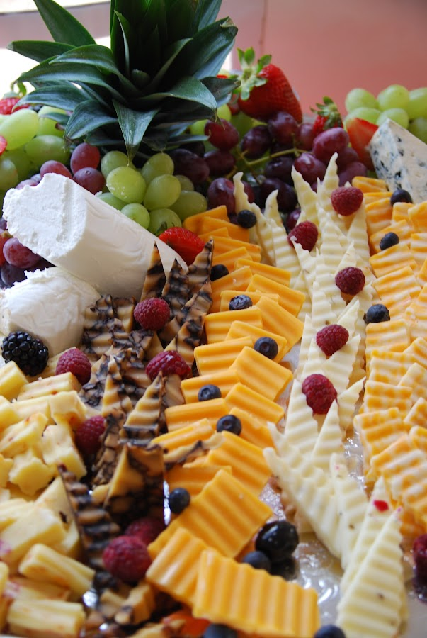 Cheese and Fruits by Nancy Lowrie - Food & Drink Meats & Cheeses ( fruit, grapes, appitizers, snacks, cheese,  )