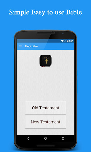 Holy Bible Material design
