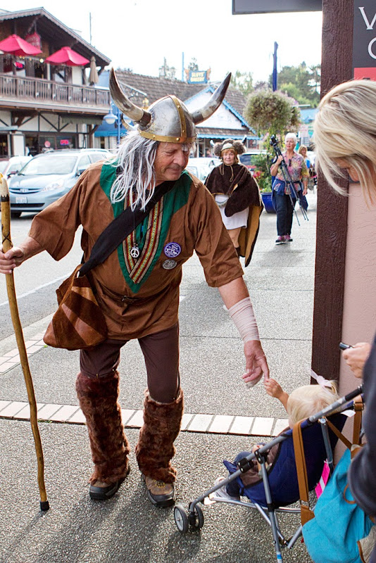 Vikings in Poulsbo Washington