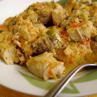 Brazilian Coconut Fish Curry