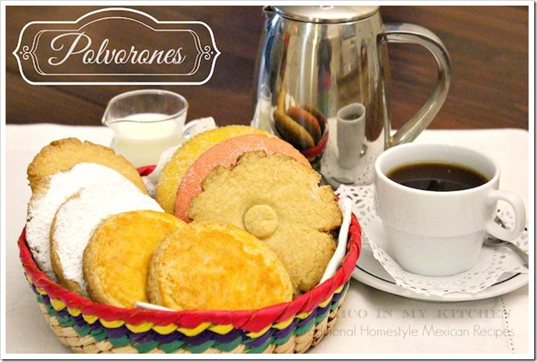 Polvorones mexicanos | Authentic Mexican Food Recipes