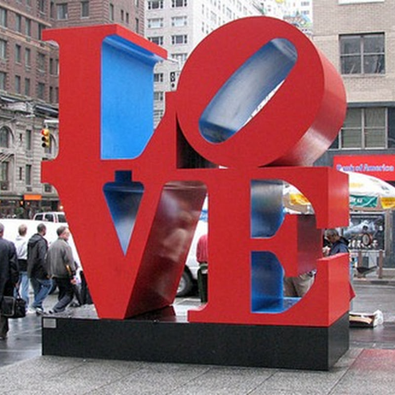 10 Famous LOVE Paintings and Sculptures