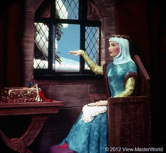 View-Master Snow White and the Seven Dwarfs (B300), Scene 1