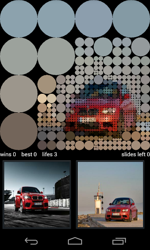 BMW M Guess Pictures Game