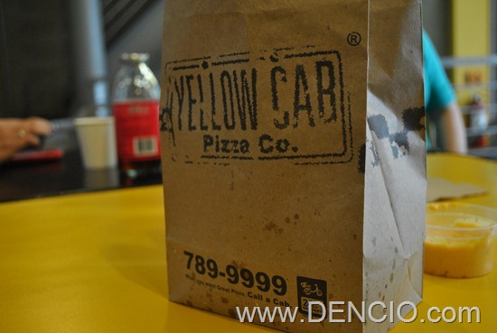 Yellow Cab Pizza Christmas Fleet 2012 01
