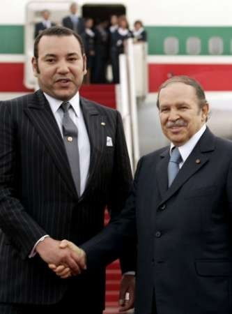 ¿Cuánto mide Mohamed VI? - Altura - Real height Bouteflika---Mohamed-6